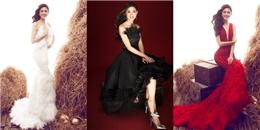 Á hậu Thanh Tú đẹp từng centimet với váy lông vũ sang chảnh