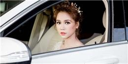 """yan.vn - tin sao, ngôi sao - Dù sốt cao, Sam vẫn tự lái """"xế"""" sang và xuất hiện xinh như công chúa"""
