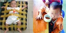 Trò đùa lố dán em bé bằng băng keo khiến dân mạng bức xúc