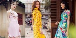 Mỹ nhân Việt rực rỡ váy áo họa tiết đón hè sớm