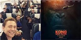 Sao'Kong: Skull Island' khoe ảnh đến Việt Nam trước ngày phim ra mắt