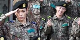 yan.vn - tin sao, ngôi sao - Hình ảnh diện quân phục đầu tiên của T.O.P và Junsu đây rồi!