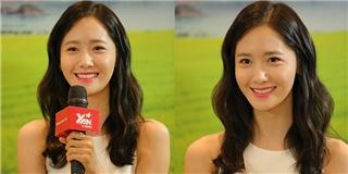 Cận cảnh nhan sắc tuyệt mỹ của  nữ thần  Yoona làm ngất ngây fans Việt