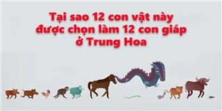 Truyền thuyết về 12 con giáp cực thú vị