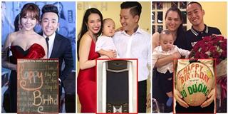 """Muôn kiểu quà """"độc lạ"""" mỹ nhân Việt tặng ông xã trong ngày sinh nhật"""