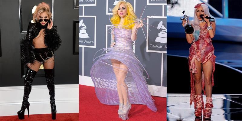 """Phát choáng với những bộ cánh """"thập phần bá đạo"""" của Lady Gaga"""