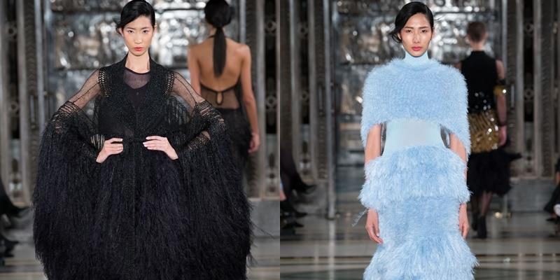 Người mẫu Việt tỏa sáng ngay ngày khai màn Tuần lễ Thời trang London