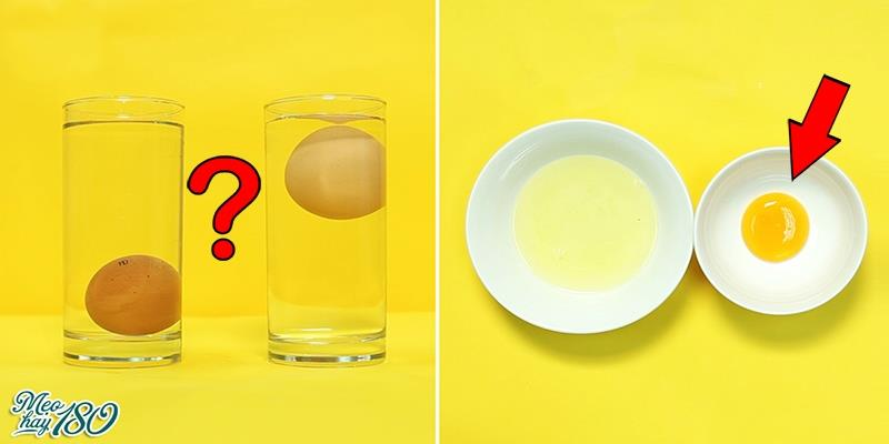 [Mẹo Hay 180] 9 mẹo cực hữu ích với trứng gà làm bạn thích mê