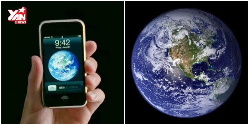 """""""Bí mật"""" về hình nền đầu tiên trên iPhone có thể bạn chưa biết"""