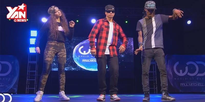 """Điều gì xảy ra khi 3 """"cỗ máy nhảy"""" thế giới đứng chung trên sân khấu?"""