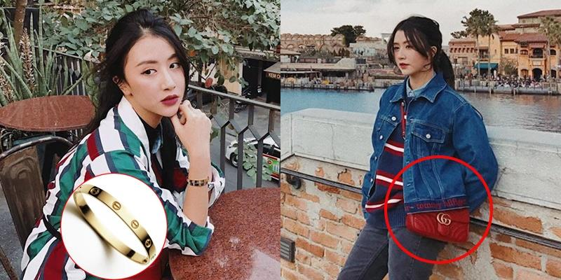 Quỳnh Anh Shyn chăm diện hàng hiệu từ khi quen bạn trai mới