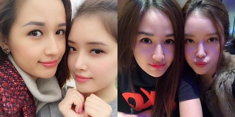 """Mai Phương Thúy """"gây bão"""" khi khoe em gái cao 1m78, xinh như Hoa hậu"""