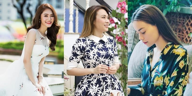 Đầu năm mới, mỹ nhân Việt đẹp bất chấp với váy áo họa tiết hoa