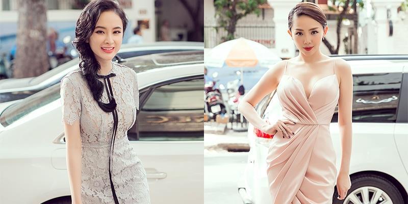 yan.vn - tin sao, ngôi sao - Angela Phương Trinh nền nã với váy ren, Tóc Tiên gợi cảm khoe ngực đầy