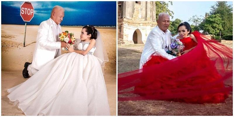 Điều kì diệu trong chuyện tình cô gái tật nguyền và cụ ông 64 tuổi