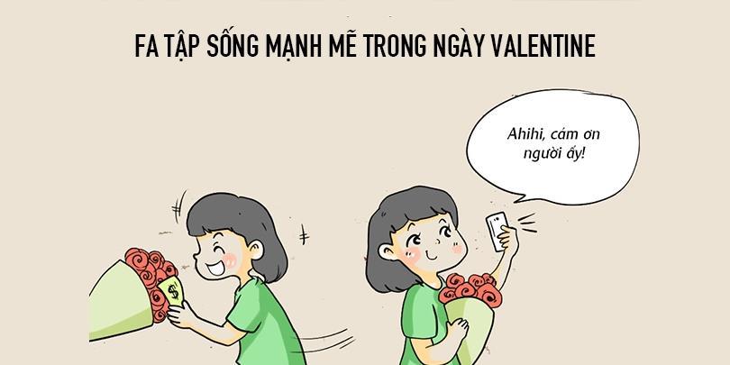 Dở khóc dở cười với cách mà FA đối mặt với Valentine mỗi năm