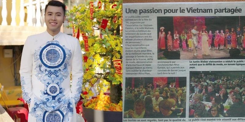 """yan.vn - tin sao, ngôi sao - Akira Phan bất ngờ được báo Pháp gọi là """"Justin Bieber của Việt Nam"""""""