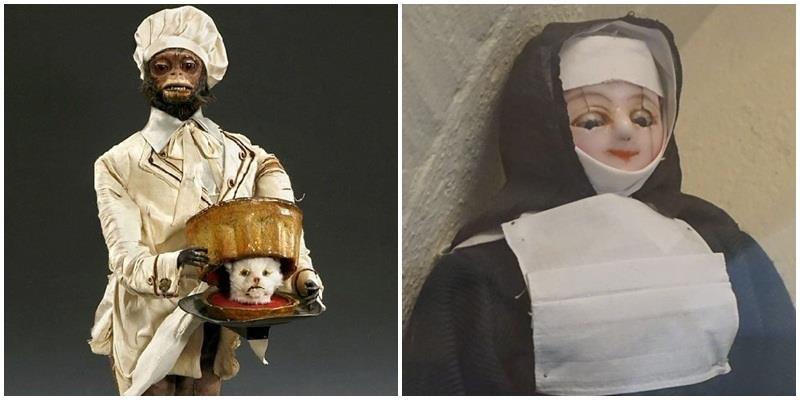 Những thứ đồ trưng bày trong bảo tàng... kinh dị đến khó hiểu