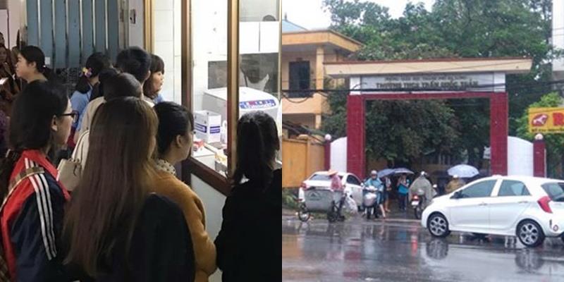Xúc động hình ảnh giáo viên hiến máu cứu học trò gặp nạn ngã từ tầng 4
