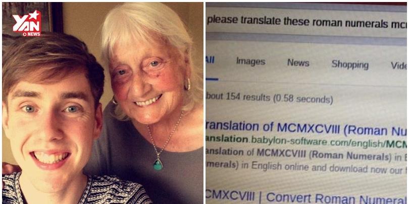 Đây là câu tìm kiếm Google không thể lịch sự hơn của bà cụ 85 tuổi