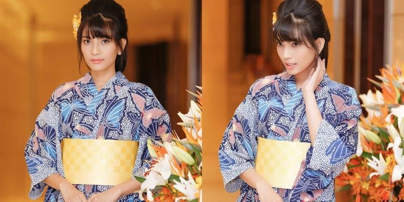 yan.vn - tin sao, ngôi sao - Trương Thị May diện kimono xinh hơn cả gái Nhật