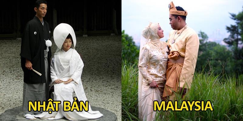 Ngắm không chán những bộ váy cưới truyền thống tuyệt đẹp trên thế giới