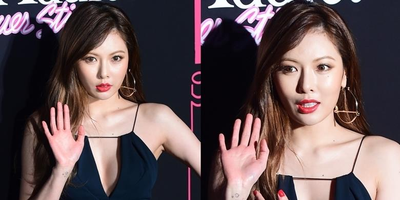 """yan.vn - tin sao, ngôi sao - Hyuna khiến fan """"phát hoảng"""" với gương mặt cứng đờ không cảm xúc"""