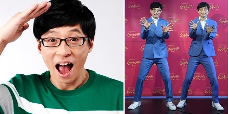yan.vn - tin sao, ngôi sao - MC quốc dân Yoo Jae Suk vinh dự có tượng sáp của riêng mình