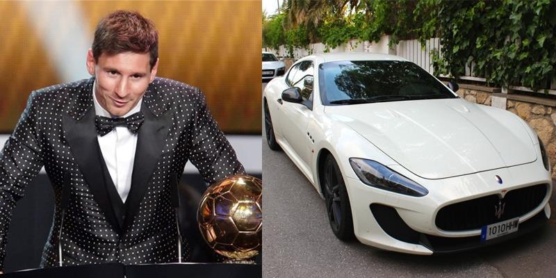 Phát hờn với số tài sản khủng của danh thủ Lionel Messi