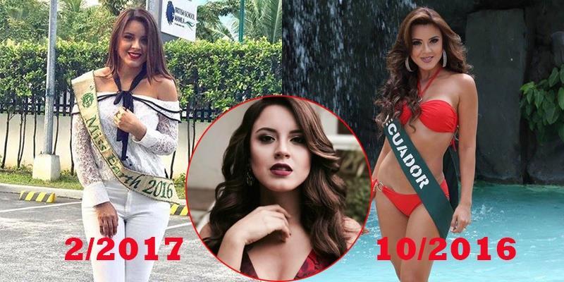 Choáng với hình ảnh tăng cân vùn vụt của Hoa hậu Trái đất 2016