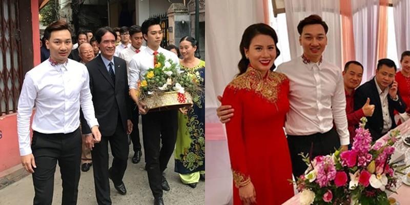 yan.vn - tin sao, ngôi sao - MC Thành Trung và bạn gái kém 9 tuổi bí mật làm lễ ăn hỏi vào sáng nay
