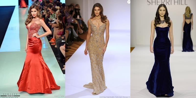 Đọ những bước catwalk đầu tiên của Miss Universe sau đăng quang