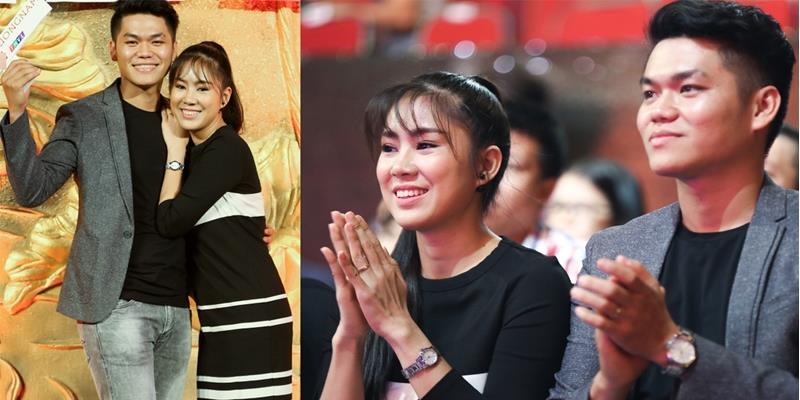 Lê Phương tình tứ cùng bạn trai kém tuổi tham dự sự kiện