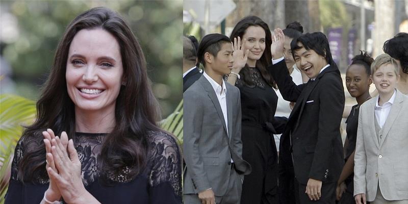 yan.vn - tin sao, ngôi sao - Angelina Jolie tái xuất xinh đẹp cùng các con hậu chia tay Brad Pitt