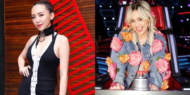 """Tóc Tiên: """"Nói tôi bắt chước Miley Cyrus thì thiệt thòi quá!"""""""
