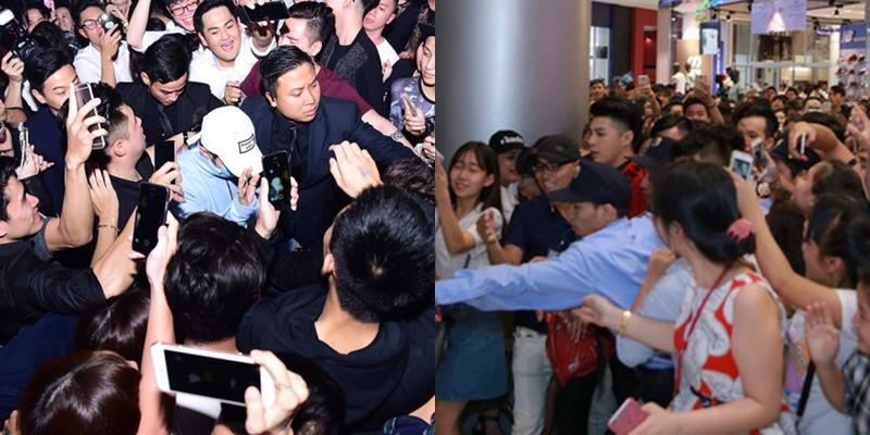 Muôn kiểu 'thoát thân' của sao Việt khi gặp phải fan cuồng