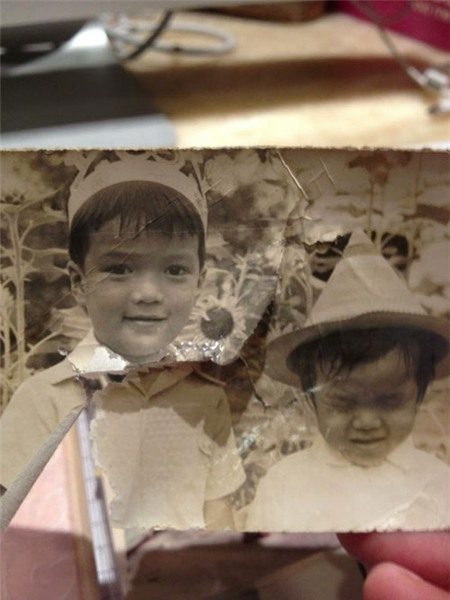 Nhiều người rất thích bức ảnh này và nói giờ anh Hưng vẫn còn nhiều nét mặt giống hệt thuở bé - Tin sao Viet - Tin tuc sao Viet - Scandal sao Viet - Tin tuc cua Sao - Tin cua Sao