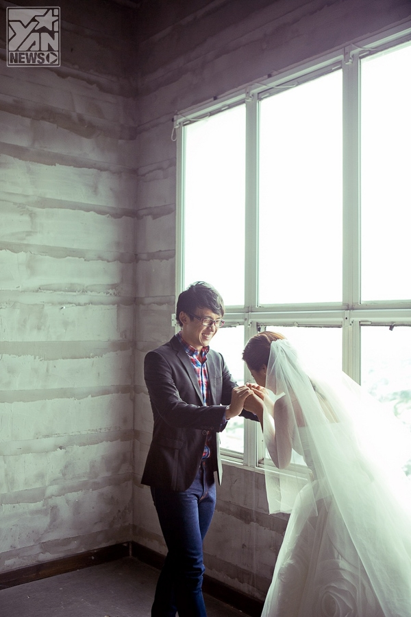Cô dâu Kim Nhã đẹp rạng ngời hạnh phúc bên chú rể Quang Bảo