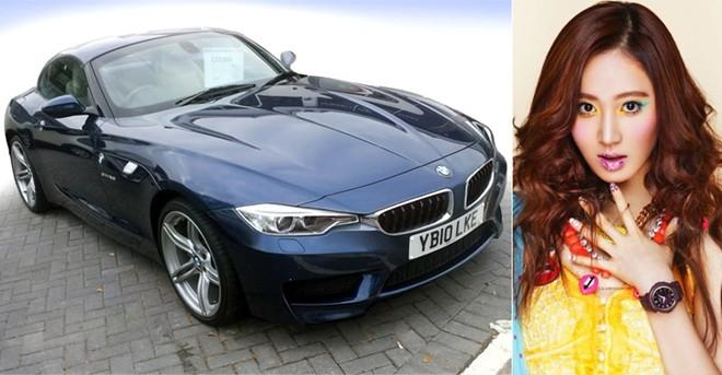 Yuri và chiếc BMW Z4.