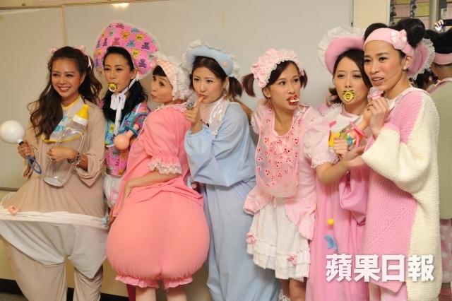 """Xa Thi Mạn quay về TVB để hóa thành thành """"trẻ sơ sinh"""""""