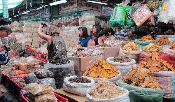 Tại chợ Kim Biên (TP.HCM)...
