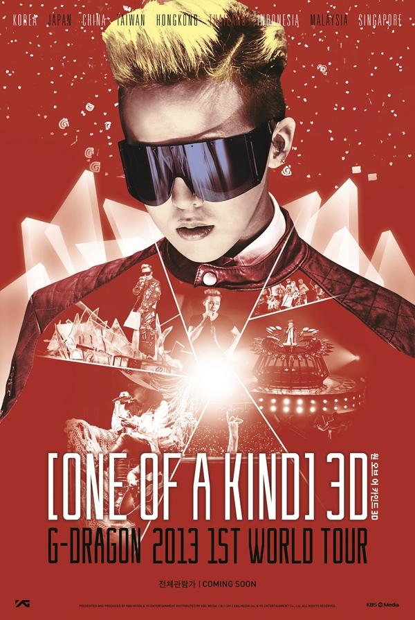 """Style thời trang cá tính, dàn dựng sân khấu hoành tráng, độc đáo, cùng với hiệu ứng đèn led huyền ảo cực kỳ hiện đại, chắc chắn sẽ làm cho cái fan """"no mắt"""" trước những màn trình diễn của G-Dragon."""