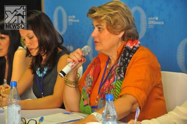 Nam Cường  Lâm Vinh Hải  Các đại diện của Unicef