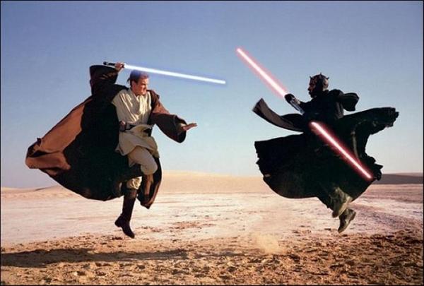 Nếu thanh kiếm Lightsaber từ bộ phim Star Wars có thực thì nó không chỉ là một vũ khí mà còn giúp bạn hâm nóng thức ăn và làm tan chảy các hợp chất khác.