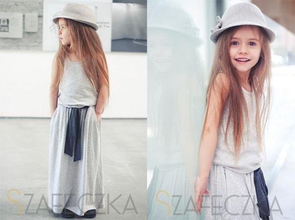 Ngỡ ngàng nét đáng yêu của fashionista nhí Szafeczka