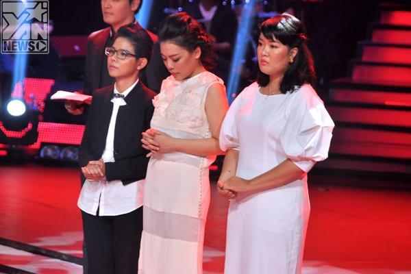 Trong đội HLV Hồng Nhung khán giả đã bình chọn cho Cát Tường, Hà Linh, và Hồng Nhung chọn Âu Bảo Ngân để đi tiếp cùng mình. Còn HLV Quốc Trung thì chọn lựa rocker Thái Châu để đi cùng anh và Khánh Duy , Hà My.
