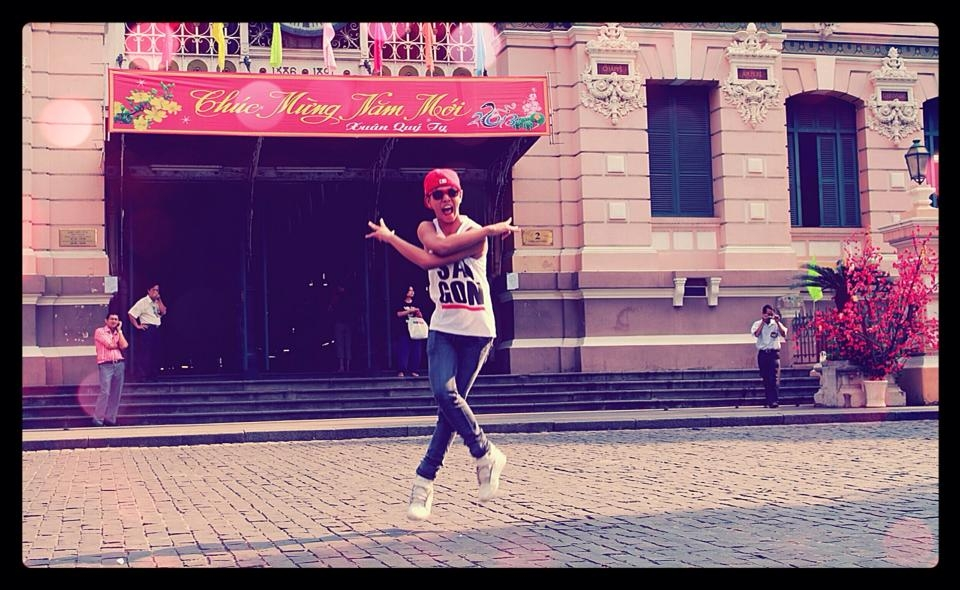 Anh chàng hiphop Trần Minh Tân (SBD:13) mong muốn tham gia cuộc thiđể trải nghiệm và mở rộng các mối quan hệ