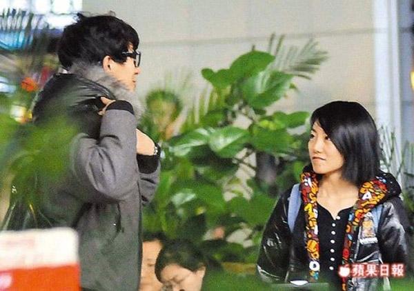 Lâm Canh Tân và bạn gái giàu có