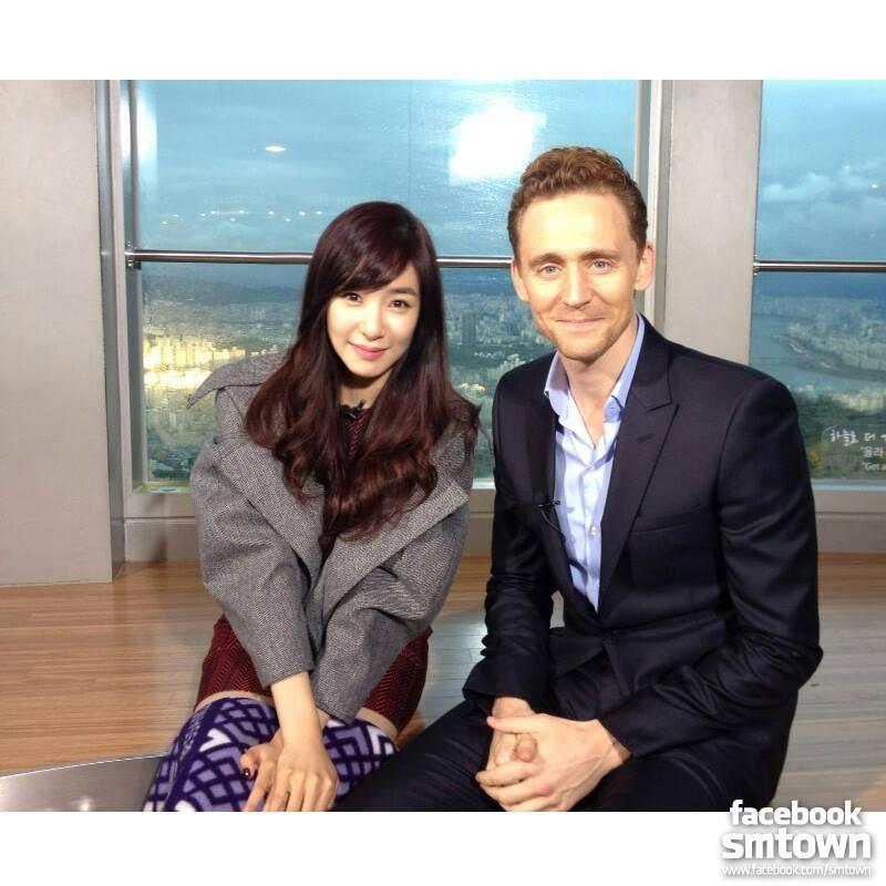 . Tiffany đã cùng Tom Hiddleston vi vu ngắm những cảnh đẹp của xứ Kim Chi