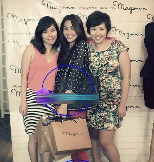 Chiếc túi Chanel cỡ lớn của Hà Tăng cũng có giá đến 70 triệu đồng. - Tin sao Viet - Tin tuc sao Viet - Scandal sao Viet - Tin tuc cua Sao - Tin cua Sao
